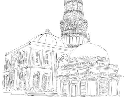 Sketches of Heritage Sites