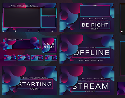 EVOLUTION TWITCH STREAM PACK