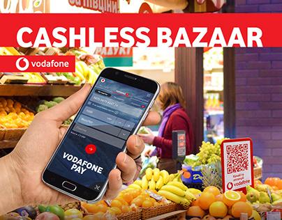 Vodafone Cashless Bazaar / Experiential