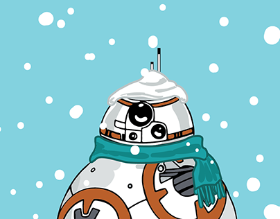 """Let it Snow, BB8"""