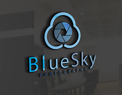 Blue Sky Photography Logo