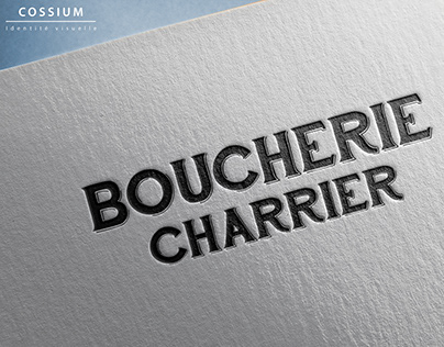 Création logo Boucherie Charrier