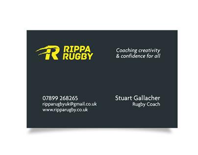 Rippa Rugby Branding