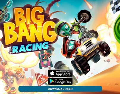 Traplight Games- Big Bang Racing Marketing Video Sample