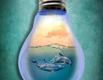 Paradise in a light bulb