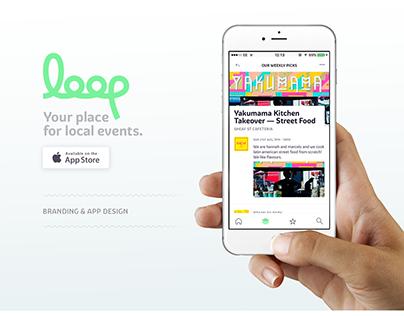 Loop // Brand & App Design
