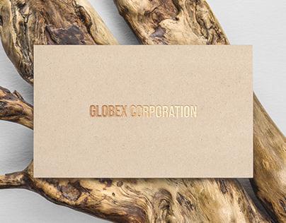 Gold-foil Business card