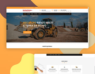 Website for a building company