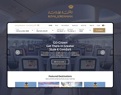 Royal Jordanian Airlines Redesign