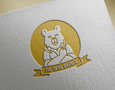 Identité Visuelle The Bear Barber