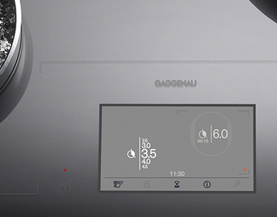 Full Surface Induction Cooking Interface for Gaggenau