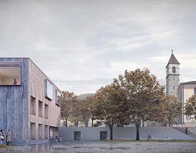 Progettazione nuova casa comunale - Losone (CH)