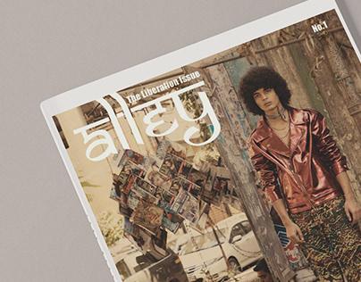 Writer & Editorial designer for a hypothetical magazine