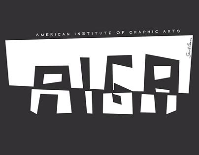 AIGA T-shirt Concept Design
