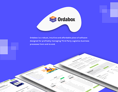 ORDABOX WEB Ui DESIGN