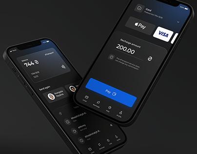 eTransport City App Mobile UI/UX Night