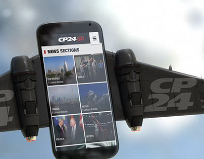CP24 GO App   Commercial