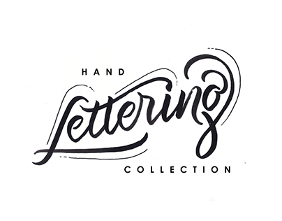 Hand Lettering Collection