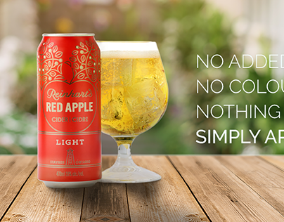 Visual identity: Reinhert's Apple Cider Ontario
