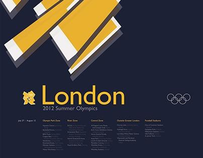 London Olympics Poster