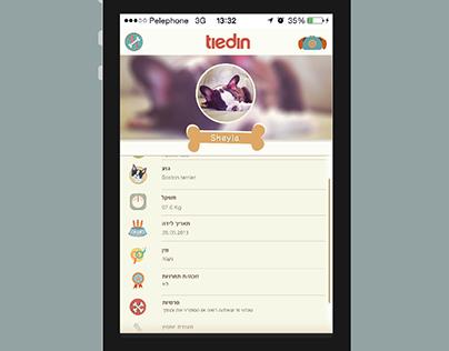 Tiedin: application for dog breeding