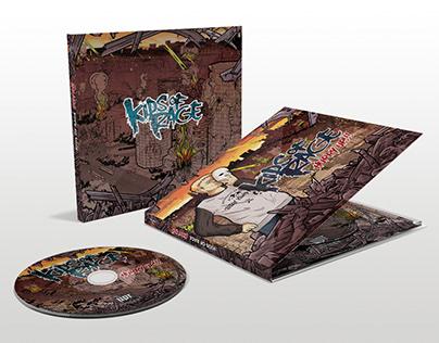 "Illustration CD/LP Cover Artwork for ""Kids Of Rage"""