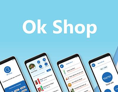 OK Shop User Engagement & Redesign