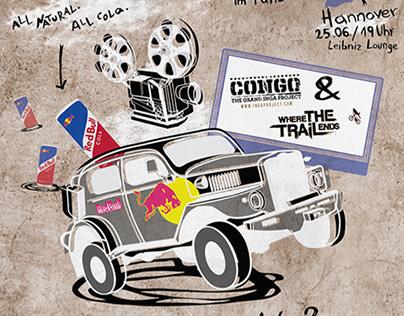 Red Bull Cola Tour 2015 Poster Design / Illustration