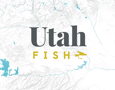 Utah Fishing Infographic Poster