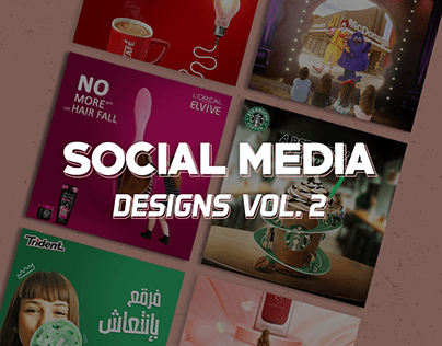 Social Media Designs Vol. 2