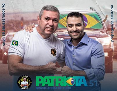 Cabo Alves 51190 - Campanha política 2020