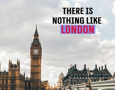 LONDON tourism campaign (Social Media posts)
