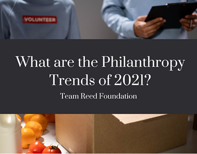 What are the Philanthropy Trends of 2021?