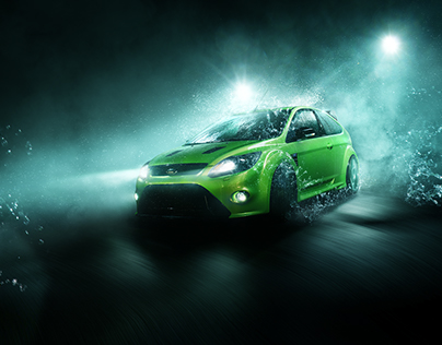 "Ford Focus RS MK2 ""waterseries"""