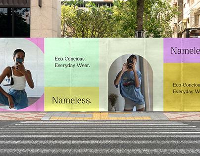 Nameless Thrift / Branding + Identity