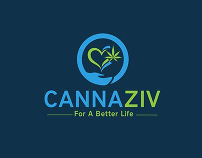 Very Creative Logo Design for Cannaziv
