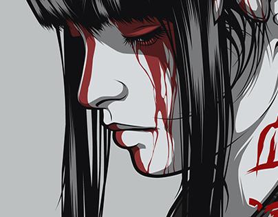 Blood Moon girl