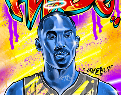 Mamba, Digital piece done in procreate