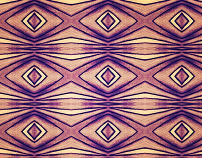 Pattern, orange basis