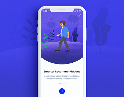 Free App Onboarding/ Walkthrough screens