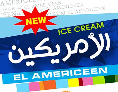 menu ice cream