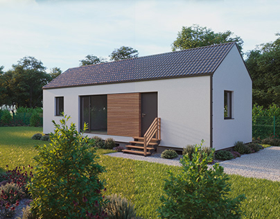 Small cottage visualization