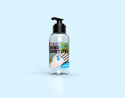 Hand Sanitizer Label Design