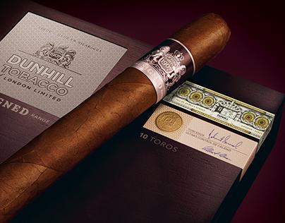 Dunhill Cigar Warranty Label