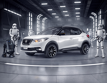 Nissan Kicks Star Wars