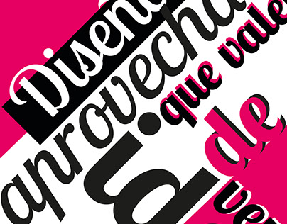 Carteles de la DDI | Spanish DDI's typographic posters