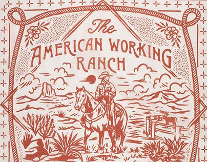 American Working Ranch Bandana