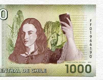 Selfie Billetes Davivienda Corredores
