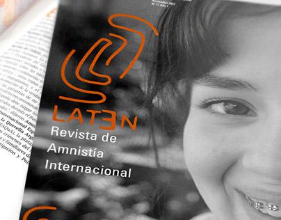 Rediseño de la Revista de Amnistía Internacional