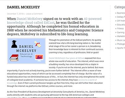 Bartering Exchange Network - Daniel McKelvey